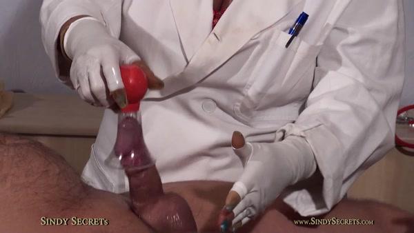 SindySecrets - Sindy Secrets - Blue Nails Medical Milking part 2