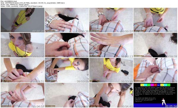 TheBallbustShow - Ahna Lynn - She Does Strip Bare Ball Squeezing