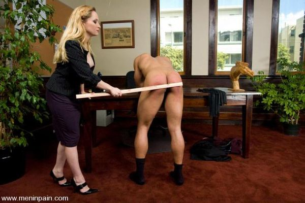 MenInPain - Aiden Starr and Lobo - The Boss's Office