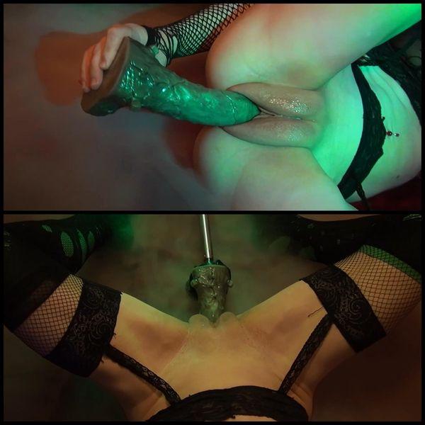 Candy Cameltoe - Sexmaschine und Frankenstein