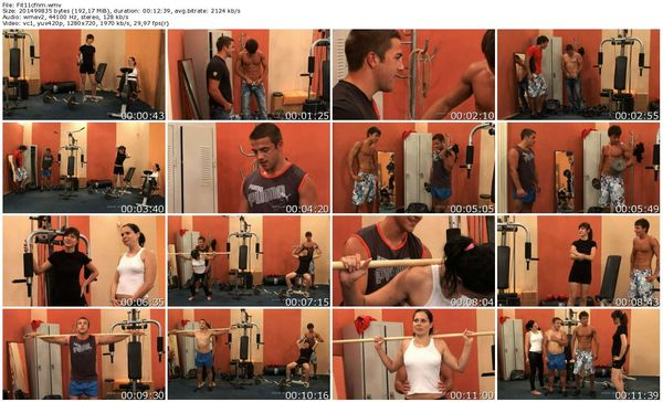 CFNMEu - Fitness Surprise part 1