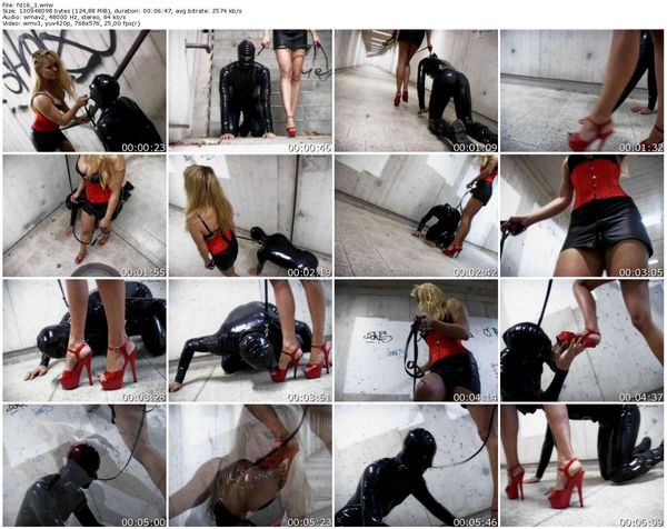 Schlagendegirls - Mistress Cynthia - A walk