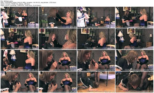 TheEnglishMansion - Lady Nina Birch - Nina's Maid part 1-3 update