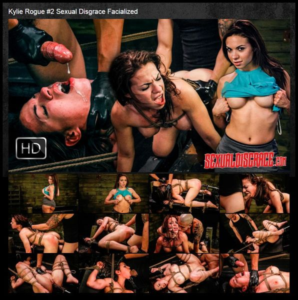 (04.02.2016) Kylie Rogue #2 Sexual Disgrace Facialized