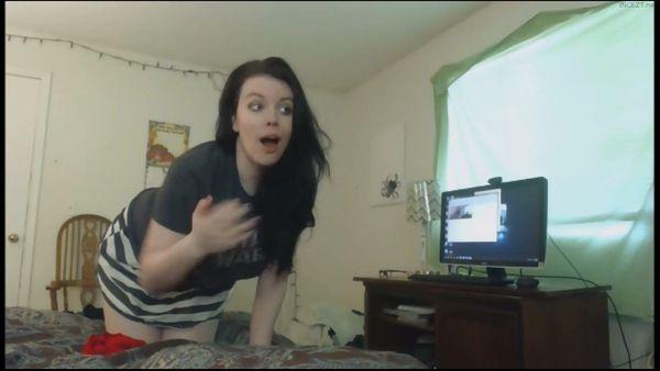 My pervert busty mom having fun at pc hidden cam - 4 7