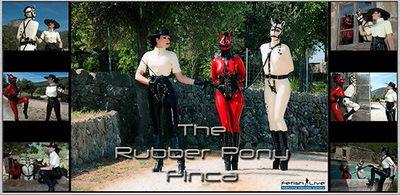 Fetish Live - Mistress Sandra - The Rubber Pony Finca