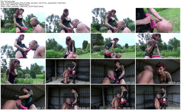 TheEnglishMansion - Mistress Ultra Violet - Pegged By A Big Cock part 1-3 update