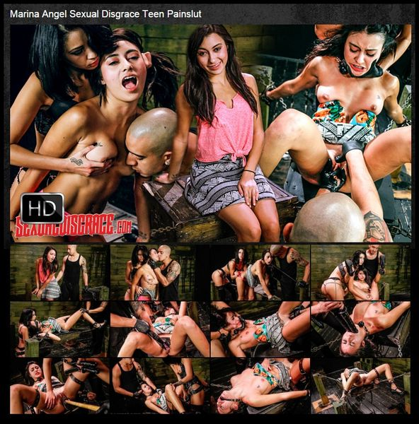 (11.02.2016) Marina Angel Sexual Disgrace Teen Painslut