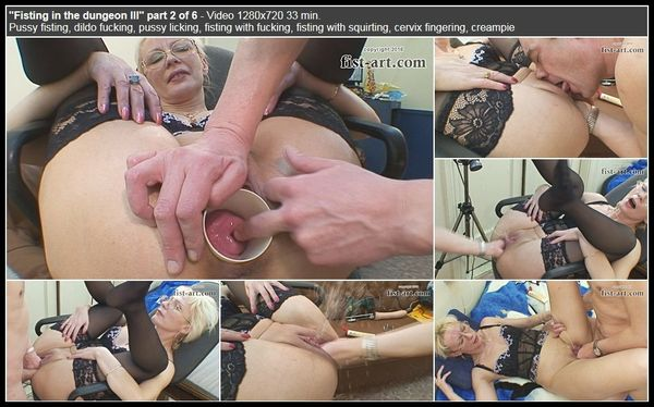 (24.02.2016) Fisting in the dungeon III part 2 of 6