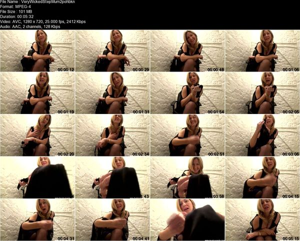 FemdomWorldClips - Very Wicked Step Mum Part 1-2