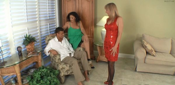 Jessica gets dressed up for her son HD
