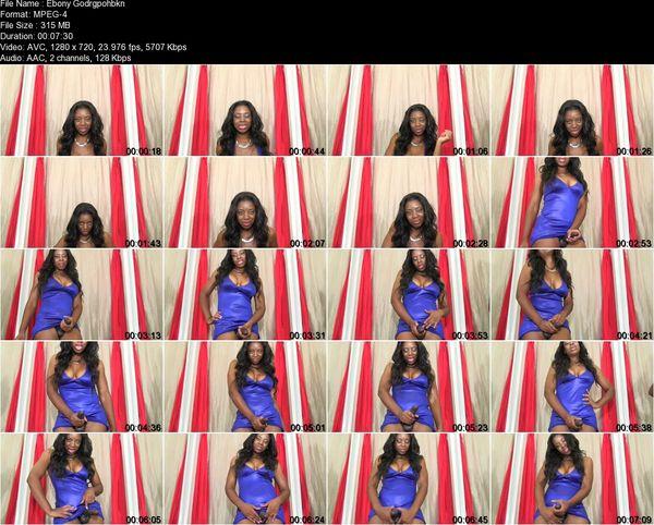 Ebony Goddess Maxxyne Payne - Satisfy Me...