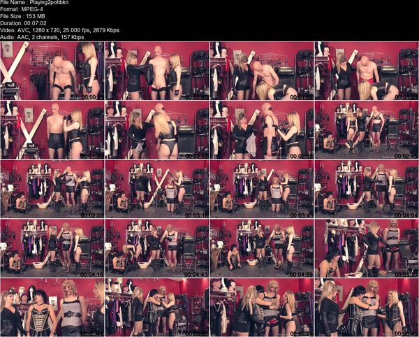 TheEnglishMansion - Lady Nina Birch, Mistress Sidonia - Playing With Our Dollies Pt1 Part 1-3