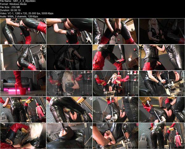 Schlagendegirls - Lady Cynthia - Anal inspection Part 1-6
