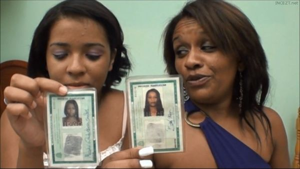 Real mother and daughter threesome