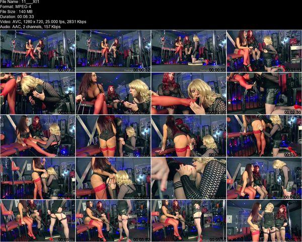 TheEnglishMansion - Dominant Dolly, Mistress Pandora - XDresser's XXX Training Part 1-4