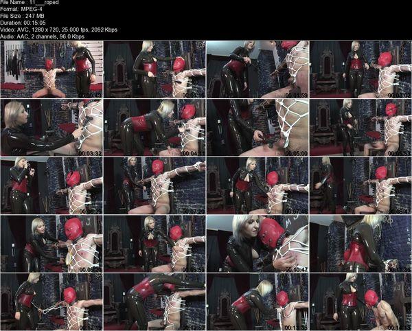FemmeFataleFilms - Mistress Johanna - Roped In Complete