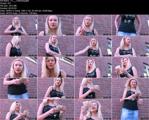 Money girls - Nadine mugs your money