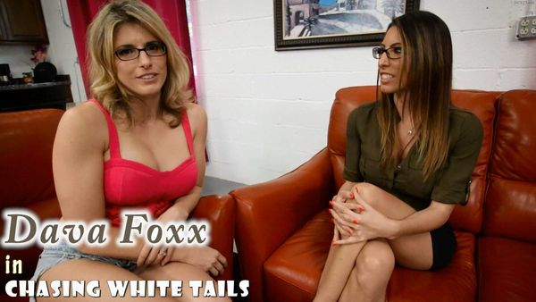 Chasing White Tails – Dava Foxx and Cory Chase HD