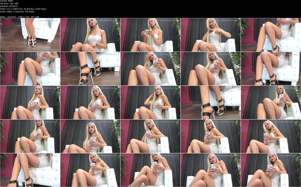Alegra - Blonde Money Mistress Takes Your Money and Ignores You