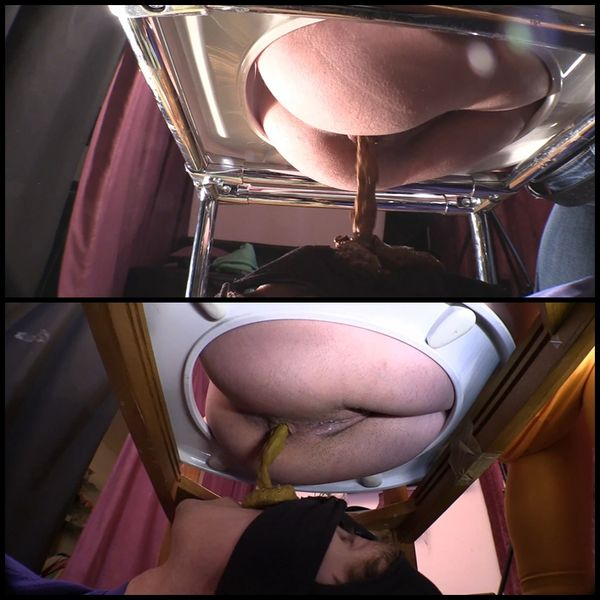 (07.06.2016) Princess Gina Erin acquires an obedient toilet slave Scat Domination