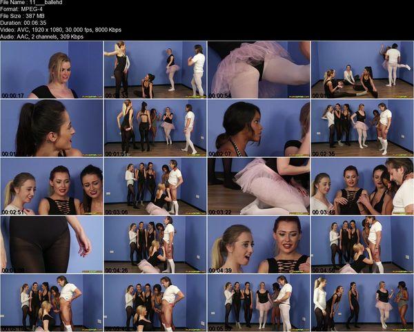 Purecfnm - Chloe Berry, Jade Louise, Kiki Minaj, Klara Belle, Tasha Holz - Ballet Boner