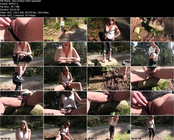 Clubstiletto - Mistress Kandy - Outdoor Thirst Quencher