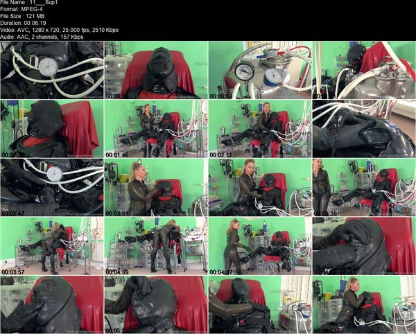TheEnglishMansion - Mistress Sidonia - Super Suction Suit Part 1-3