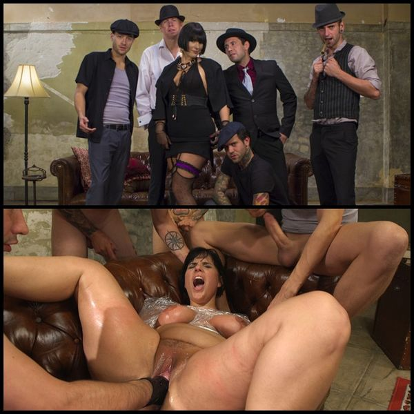 (07.09.2016) Agent Airtight: Slutty Fed Takes Five Hard Cocks In All Her Holes