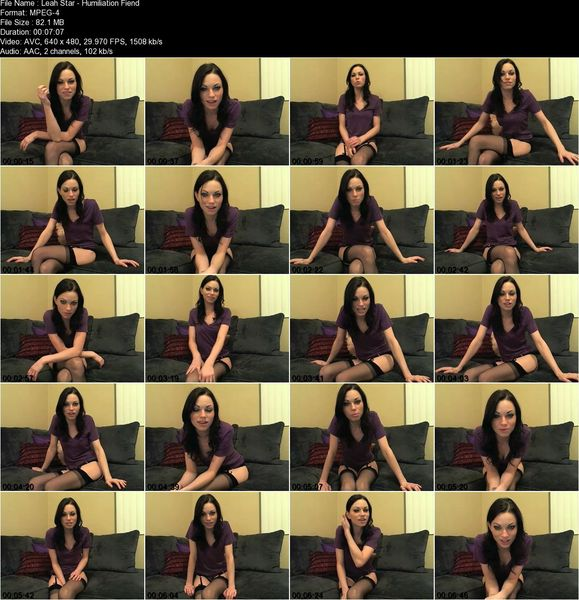 Leah Star collection (13 clips)