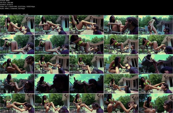 Brat Princess 2 - Taylor - Bratty Bikini Girl Foot Worship