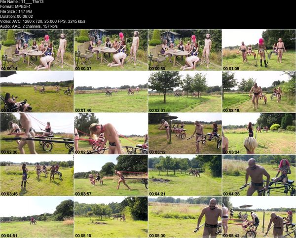 TheEnglishMansion - Miss Annalieza, Mistress Evilyne, Mistress Lola Ruin, Mistress Sidonia - The Mansion's Summer Garden Party Pt1 Part 1-32