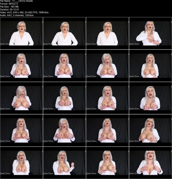 Goddess Victoria - CEO's Hostile Tit Takeover