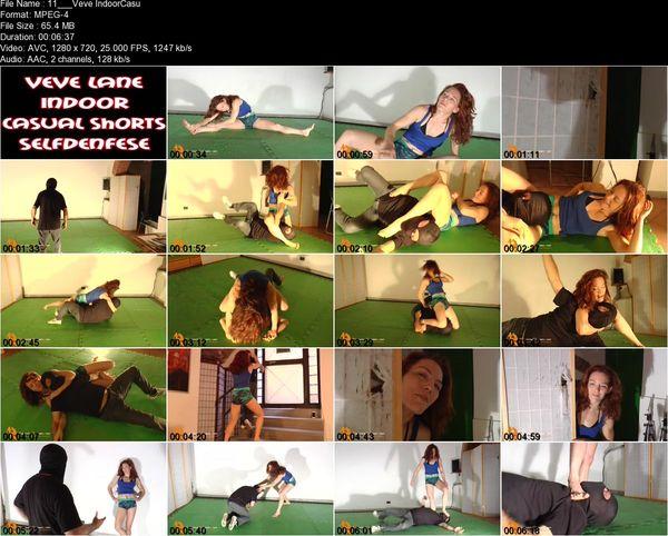 Fighting Dream - Veve Lane - Veve Lane Indoor Casual Shorts Selfdefense