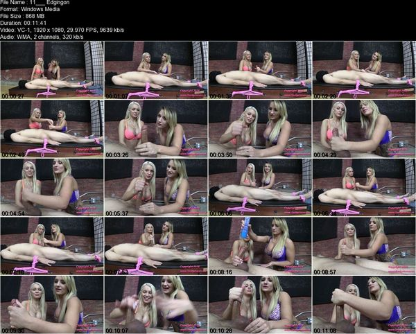 Bratprincess - Cali, Kenzie - Edging Salon Teasers Demonstrate Ruined Orgasm Techniques (1080 HD)