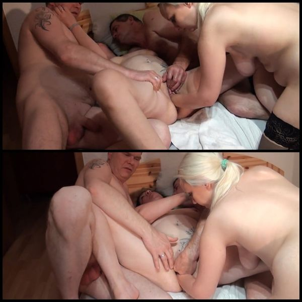Hammer foursome with fucking and fisting with Alexas18