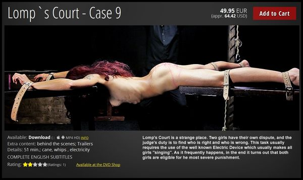(28.10.2016) Lomp`s Court – Case 9