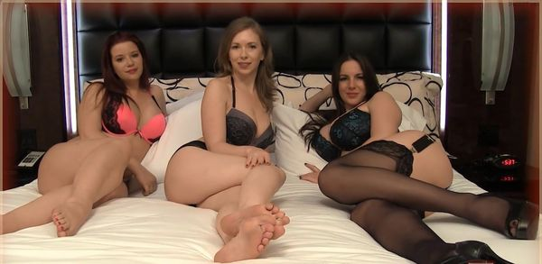 Mistress T, Alexandra Snow & Sarah Blake – Mommie and Friends HD