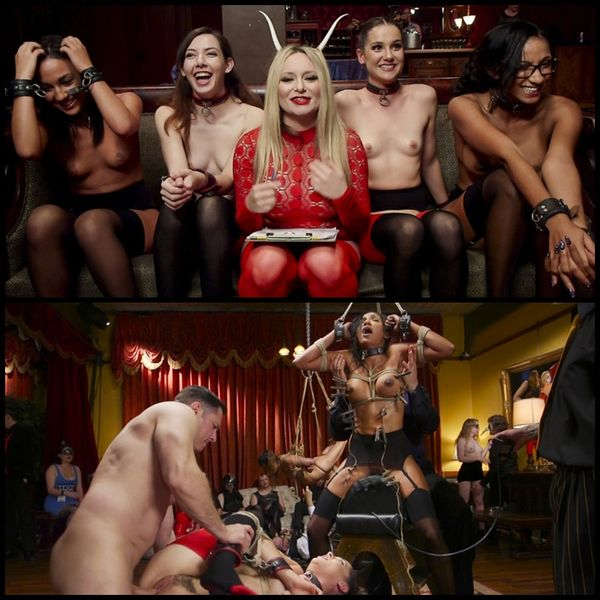 (30.12.2016) Anal Slaves Serve Kinky Costume Ball