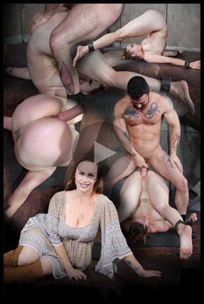 (11.01.2017) ¡Bella Rossi es brutalmente follada mientras está atada a un conductor de pila extrema, enormes orgasmos enormes de gallos!