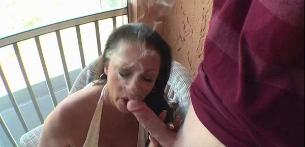 Blowjob Party Cum Mouth