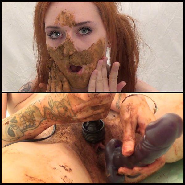 (14.01.2017) BADASS Shit and masturbation, Panty poping and smearing