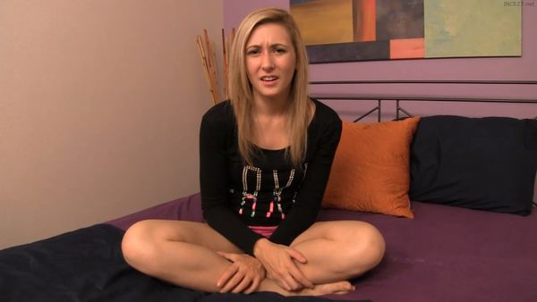 Awkwardness with my sister Lilly Banks HD
