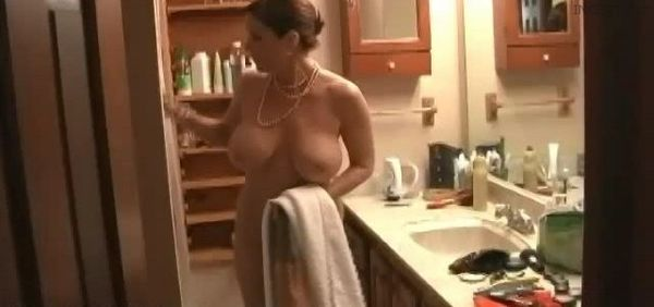 MILF 623 – Jerking my Cock, Watching my Mother!