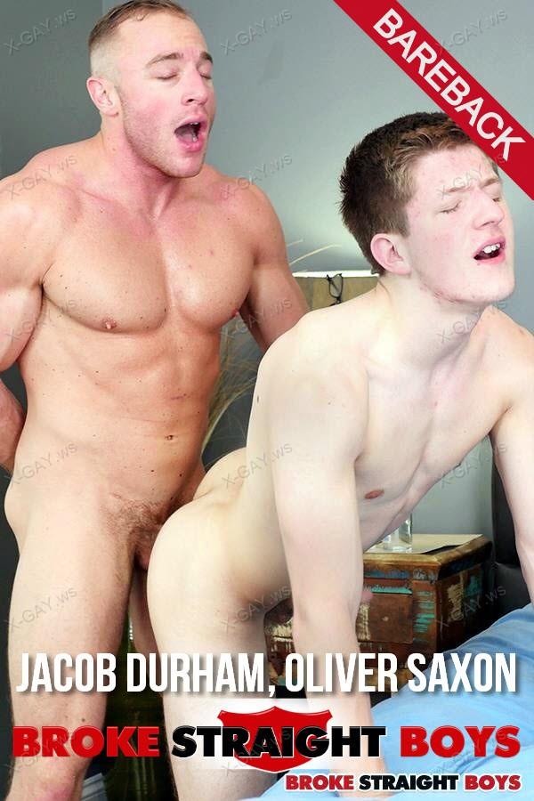BrokeStraightBoys: Jacob Durham Fucks Oliver Saxon Raw