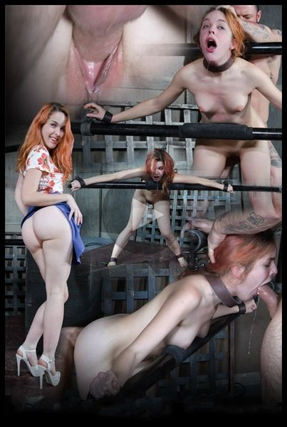 (15.02.2017) Amarna Miller is one sexy redhead, who gets destroyed by cock and orgasms while bound and helpless!