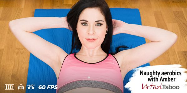Naughty Aerobics with Amber – Amber Nevada HD