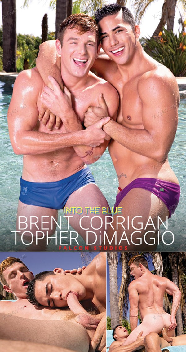 FalconStudios: Into The Blue (Brent Corrigan, Topher DiMaggio)