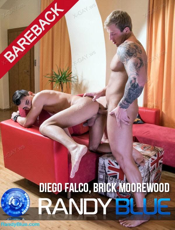RandyBlue: Diego Falco, Brick Moorewood (Bareback)