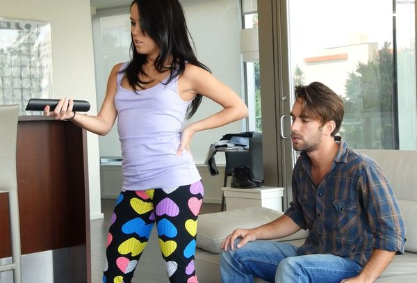 Megan Rain – Fight Then Fuck With Brother HD